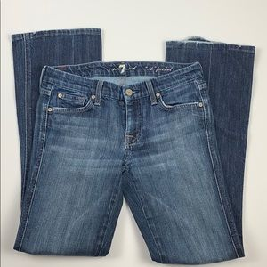 Seven For All Mankind A Pocket Flare Jeans